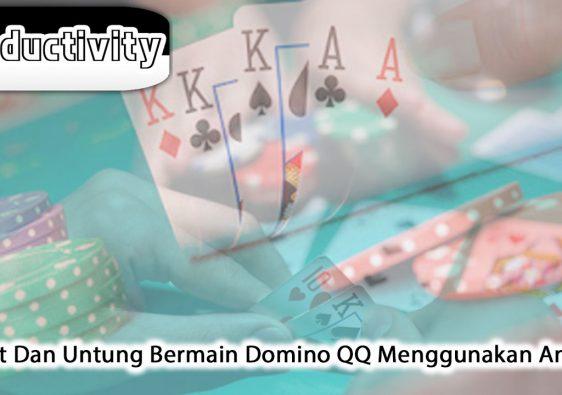 Domino QQ Menggunakan Android Hemat Dan Untung - ProductivityApps